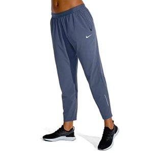 Nike   Dark Gray Dri-Fit Running Joggers Zip Up Pockets Size Medium
